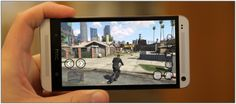 Download GTA 5 Android version (GTA 5 APK + SD Data) from this site. I just installed on Galaxy S4 and it work perfectly