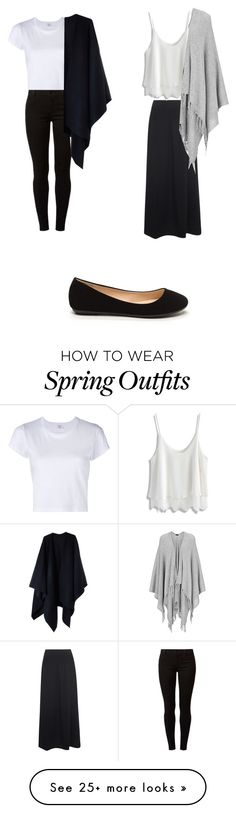 """""""minimal comfy outfit"""" by neang-venessa-yem on Polyvore featuring RE/DONE, Dorothy Perkins, Oska, Chicwish, Joseph and Acne Studios"""