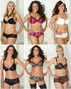 Forget airbrushed size 00 models posing in their undies, Ultimo has picked a range of women to star in its latest advertising campaign.The lingerie giant has opted to use the kind of women who actually buy their collections  those aged 18-46 and from 00 up to a size 18  as well as chosen to not airbrush their bodies. (Note that there WAS retouching to their faces: ie wrinkles/complexion, & basic lighting/contrast PS tools, but this is a wonderful step forward!!) http://bit.ly/H7Ay