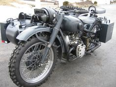 1944 Soviet m72 Sidecar Military Motorcycle For Sale