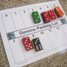 Domino parking lot