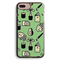 Pattern Usuals Objects Apple iPhone 7 Plus Case Cover ISVF314