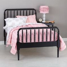 black jenny lind bed land-of-nod