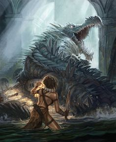 Tears of the crocodile god swamp creature, dnd monsters, high fantasy, fantasy art High Fantasy, Dark Fantasy Art, Fantasy Artwork, Mythological Creatures, Fantasy Creatures, Mythical Creatures, Fantasy Monster, Monster Art, Creature Concept Art