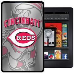 Cincinnati Reds Kindle Fire Case by Imagine Factory. $22.99. Our Custom plastic kindle fire case is your best insurance policy against bumps and scratches on every part of your kindle fire.  It helps safeguard the screen from nicks, you'll never feel weighed down on your way to  meeting or date.