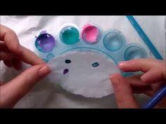 TRIKI STYLIZACJI PAZNOKCI - farbki akrylowe