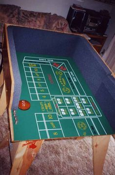 Build your own craps table poker room pinterest build your own tables and wish list - Build your own poker table ...