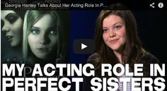 Georgie Henley Talks About Her Acting Role In PERFECT SISTERS via http://www.filmcourage.com/.  PERFECT SISTERS is in theaters April 11th! https://www.facebook.com/PerfectSisters   More video interviews at https://www.youtube.com/user/filmcourage  #actress #georgiehenley #narnia #thechroniclesofnarnia #perfectsisters #movie #cinema #film