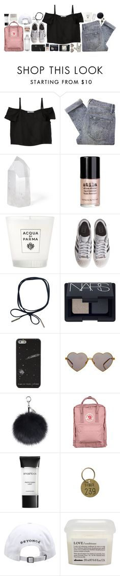 """""""*/ like to join taglist"""" by perksofbeinganerd on Polyvore featuring Shaina Mote, Marc by Marc Jacobs, Mapleton Drive, Stila, Acqua di Parma, adidas Originals, NARS Cosmetics, Moleskine, Wildfox and Fjällräven"""