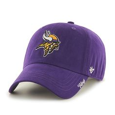 47 Sacramento Kings Clean Up Purple Adult Adjustable Hat