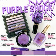 Milani Purple Shock Color Collection