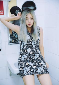 . Pretty People, Asian Beauty, Pretty Girls, Korean Fashion, Rompers, Summer Dresses, Model, Clothes, Japan