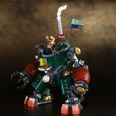 Victorian behemoth oozes steam and charm in equal measure | The Brothers Brick | LEGO Blog