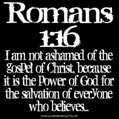 Image result for romans 116 power