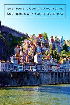 Rio Douro Rio Duoro in Porto, Portugal. Silves Portugal, Douro Portugal, Visit Portugal, Spain And Portugal, Portugal Country, Places To Travel, Travel Destinations, Places To Visit, Portugal Destinations