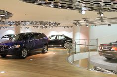 Ground floor Volvo Cars Showroom
