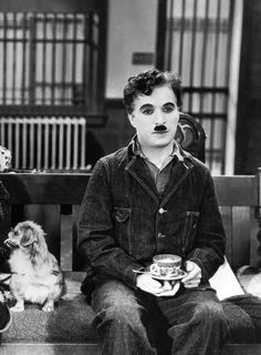 chá de cadeira   Charles Chaplin