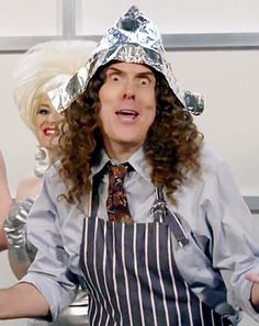 """Weird Al Yankovic Spoofs Lorde's """"Royals"""" With """"Foil"""" Parody: Video - Us Weekly"""