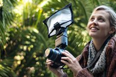The *bendable* flash bender & diffuser—shape it any way you want to get the lighting you need. #ilovephotojojo