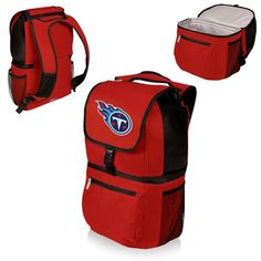 awesome Tennessee Titans Digital Print Zuma Cooler Backpack Red