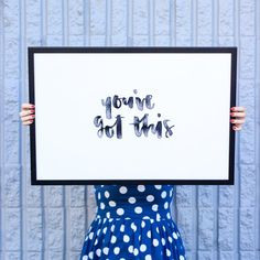 Decorate your walls in no time with this free printable!