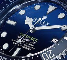 Rolex Deepsea D-Blue gradient dial