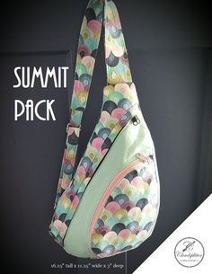Summit Pack: PDF Sewing Pattern by CloudsplitterBags on Etsy