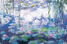 Claude Monet. Ninfeas. From All Posters.