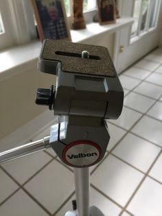 """VELBON VE-3C 57.5"""" Anodized Aluminum Portable Tripod"""