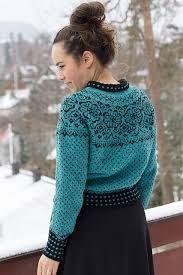 Ravelry: Elins kofte pattern by Wenche Roald Knitting Patterns Free, Knit Patterns, Icelandic Sweaters, Fair Isle Knitting, Sweater Design, Knitting Projects, Knit Cardigan, Knitwear, Knit Crochet