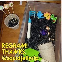 """Thanks @squidjellyslp for the regram idea!! Totally didn't buy enough """"dirt"""" (aka black beans!) for my garden. Looks like I'll be running to the store bright and early! - - click on pin for more! - Like our instagram posts? Please follow us there at instagram.com/pediastaff"""