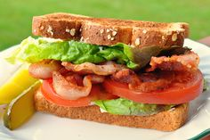 Great Things To Make With Just 4 Slices Of Bacon | BLT
