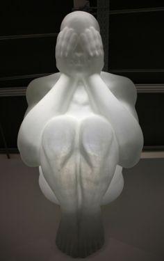 Jaume Plensa – Blind Angel @ Art Basel 2012.      Via Greg Quinlivan