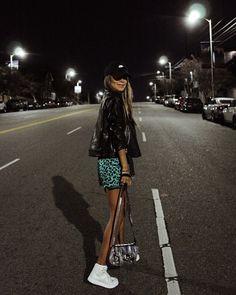 "JULIE SARIÑANA on Instagram: ""Last night at the #NIKE @nikelosangeles party with @revolve • wearing @LPA dress #nikexrevolve """