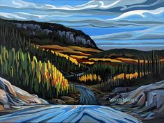 """The Road to Superior, Thunder Bay, Ontario, 16"""" x 20"""" giclee print - Limited Edition of 50 - Canadian Art"""