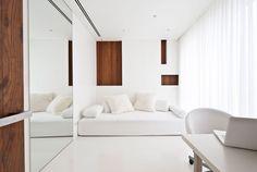 modernes weißes Interior Design