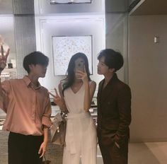 Boys and Girl Ulzzang Mode Ulzzang, Ulzzang Kids, Korean Boys Ulzzang, Cute Korean Girl, Ulzzang Couple, Best Friend Pictures, Friend Photos, Friends Korean, Boy And Girl Friendship