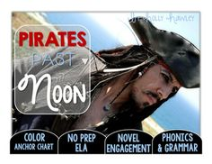 This packet is PRINT and GO ready! No time spent laminating, cutting, or setting up. Print and your kids are ready to use engaging ELA activities that follow K-2 ELA standards with the Magic Tree House series: Pirates Past Noon! This set is perfect for