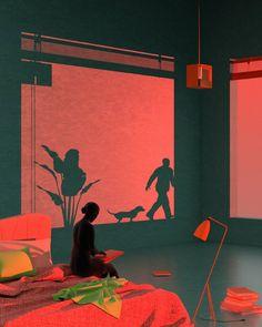 Retro-futuristic Illustrations by Tishk Barzanji – Trendland: Trends, Art, Design & Lifestyle Art And Illustration, People Illustration, Arte Inspo, Online Galerie, New Retro Wave, Posca Art, Fine Art, Art Direction, Art Reference