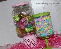 Happy Little Party: Spring Candy Jars