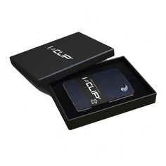 Køb denne smarte blå I-Clip kortholder / pung - lavet i Tyskland