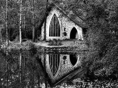 underwater chapel