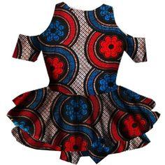GAGA Women's Summer African Traditional Print Ruffle Peplum T-shirt... ($31) ❤ liked on Polyvore featuring tops, t-shirts, ruffle t shirt, print t shirts, summer t shirts, print tees and african peplum tops