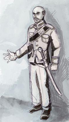 character design for Rizal's Noli Me Tangere