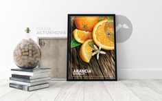 FREE SHIPPING - Amalfi Coast oranges - Printed poster | Wall art | Wall decor | Culinary art print | Kitchen interior decor | Citrus | gift by AmodDomaART on Etsy https://www.etsy.com/listing/535629887/free-shipping-amalfi-coast-oranges