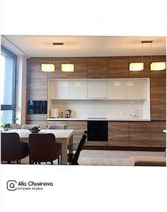 Kitchen apartment interior cabinets ideas for 2019 Kitchen Room Design, Kitchen Cabinet Design, Modern Kitchen Design, Home Decor Kitchen, Interior Design Kitchen, Home Kitchens, Kitchen Dining, Kitchen Ideas, Modern Kitchens