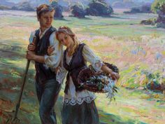 New Works by Daniel Gerhartz, American contemporary Artist