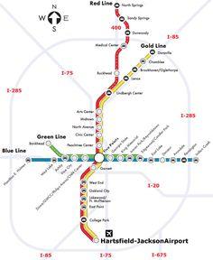 Atlanta Airport Skytrain Map Related Keywords