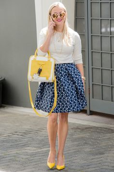 6 Ways Reese Witherspoon Suggests Getting the Reese Witherspoon Look | People - add height (and color!) whenever possible