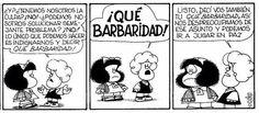 ¡Qué barbaridad! Mafalda Comic, Mr Wonderful, Humor Grafico, Power Girl, Funny Cartoons, Big Picture, Caricature, Peanuts Comics, Hilarious